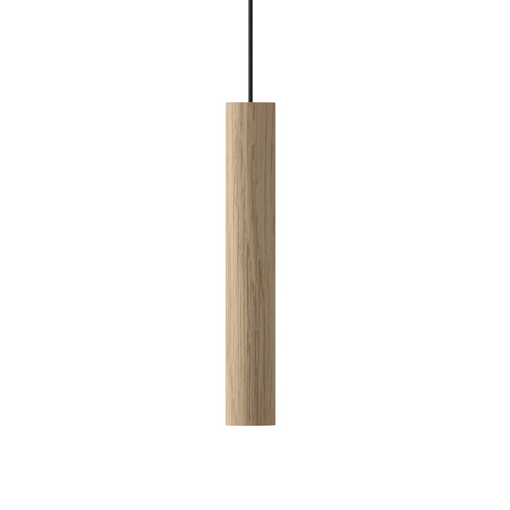 The Umage - Chimes Pendant lamp LED, Ø 3 x 22 cm, oak