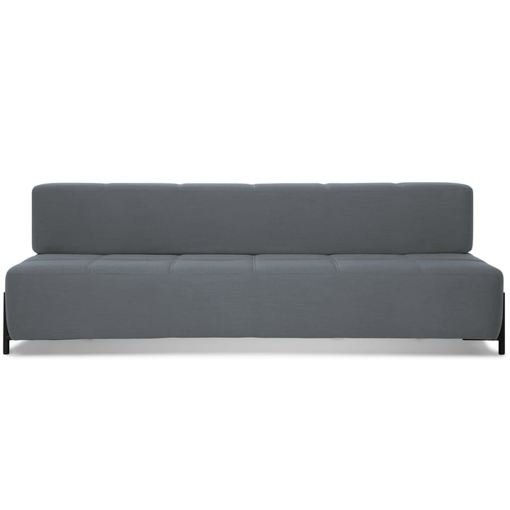Northern - Daybe sofa, black / light grey (Brusvik 05)