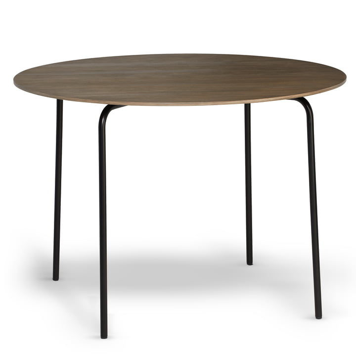 Northern - Camp Dining Table, black / smoked oak
