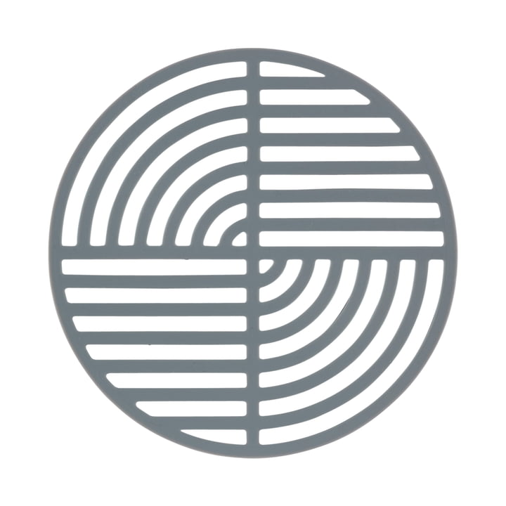 The Zone Denmark - Circle Trivet in cool grey
