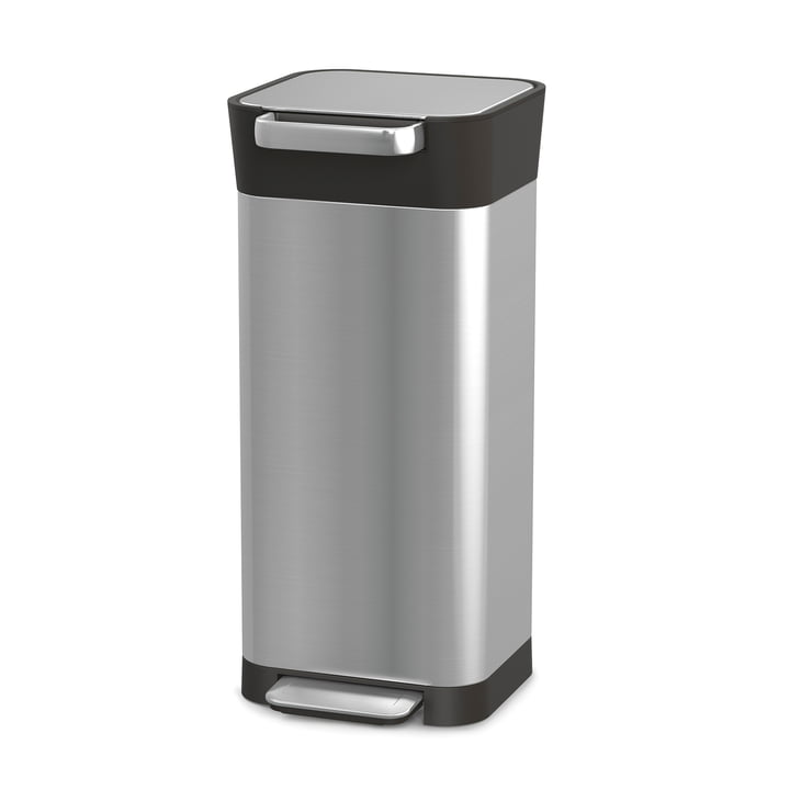Titan Pedal Bin 20 l by Joseph Joseph in Stainless Steel