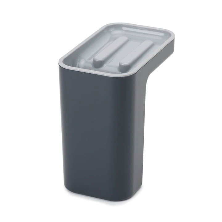 Sink Pod Flush organizer from Joseph Joseph in grey