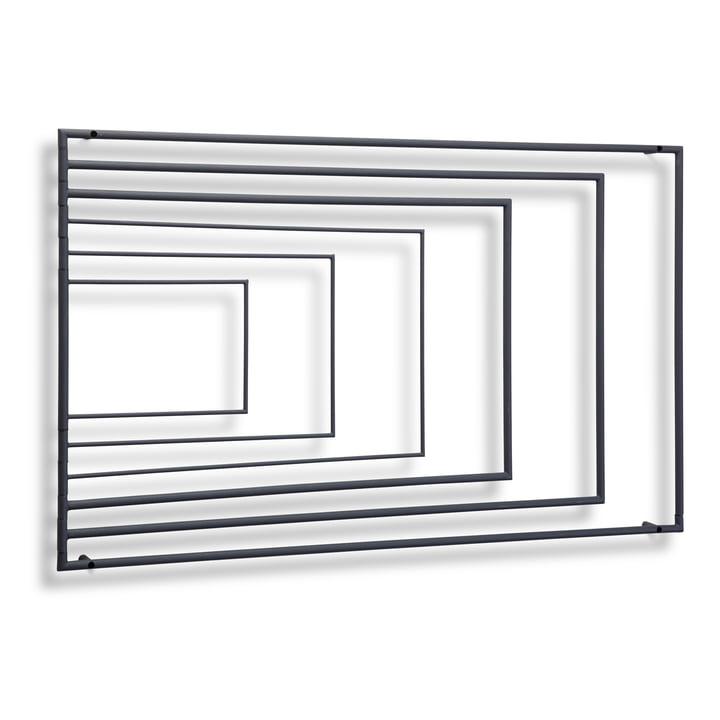 Northern - Frame Wall-Mounted Drying Rack, dark grey