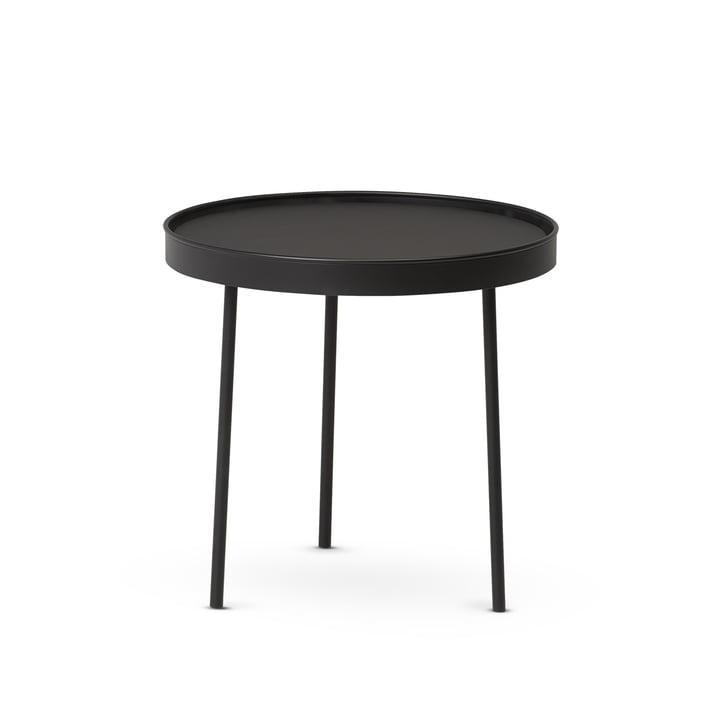 Northern - Stilk Coffee Table medium, Ø 45 x H 42 cm, black (RAL 9005)