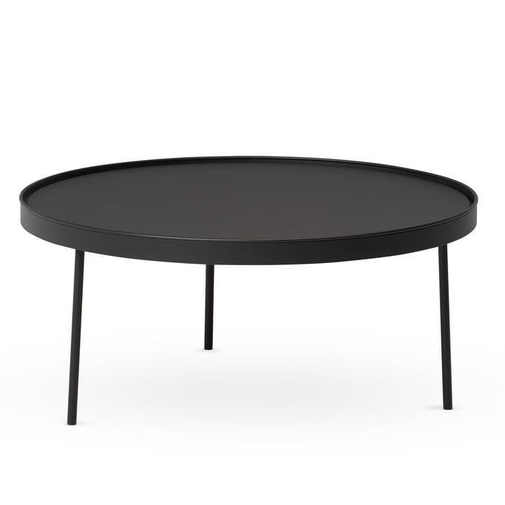 Northern - Stilk Coffee Table medium, Ø 74 x H 34 cm, black (RAL 9005)
