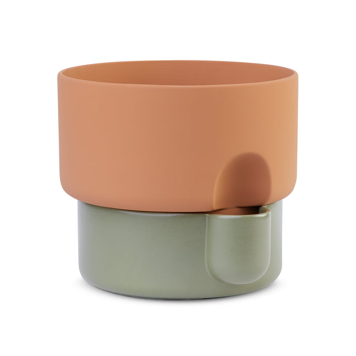 Northern - Oasis Plant pot, Ø 27.5 x H 24.5 cm, green