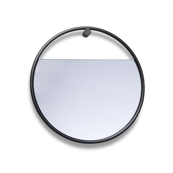 Northern - Peek Wall Mirror Ø 40 cm, black