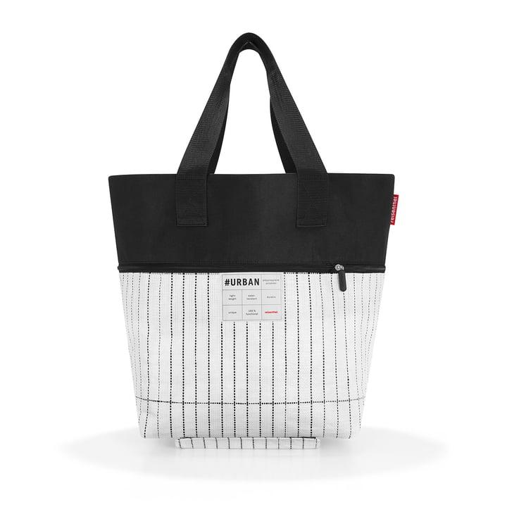 reisenthel - urban rollbag berlin, black / white