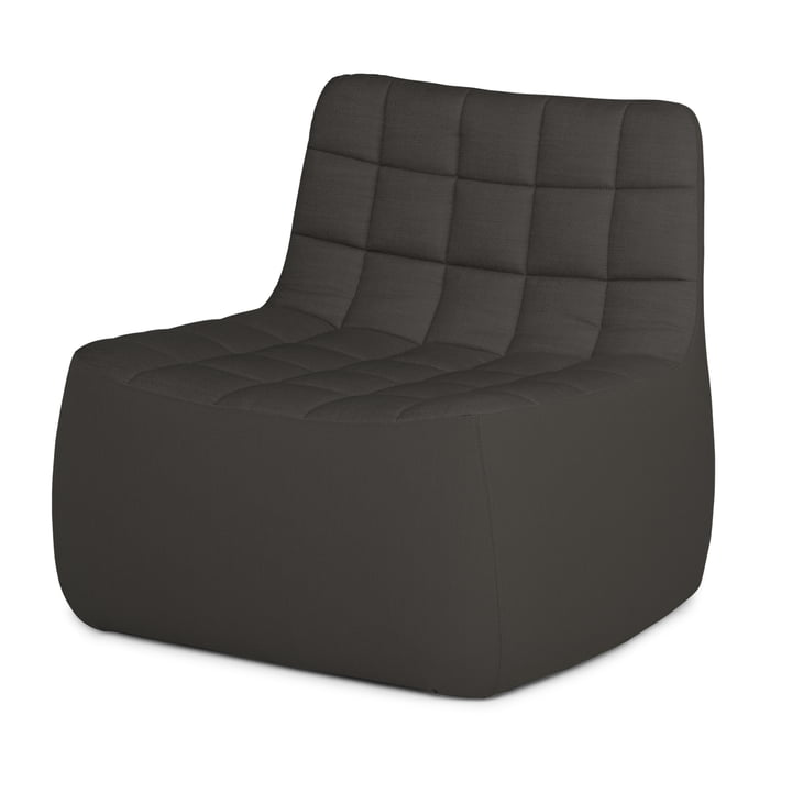 Northern - Yam Chair XL, dark grey (Brusvik 08)