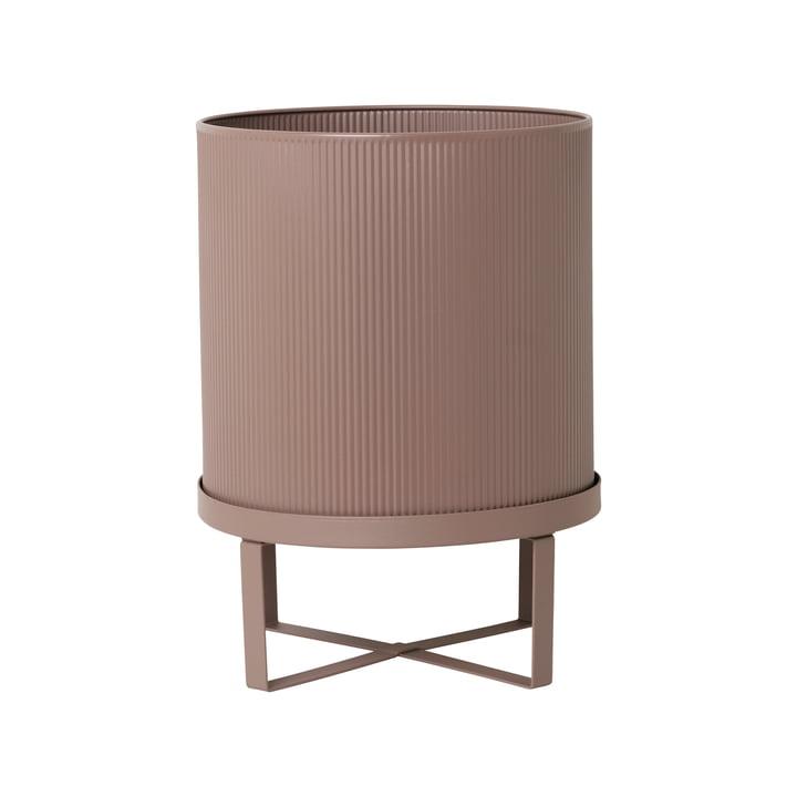 Bau Flower Pot Ø 28 x H 38 cm by ferm Living in Pink