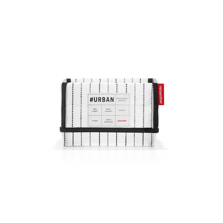 reisenthel - urban box tokyo, black / white