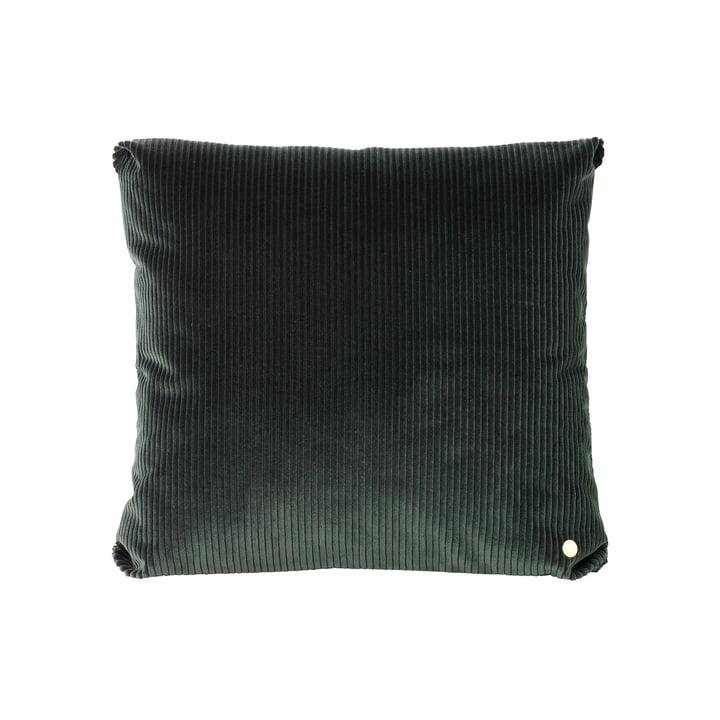 Corduroy cushion, 45 x 45 cm by ferm Living in green