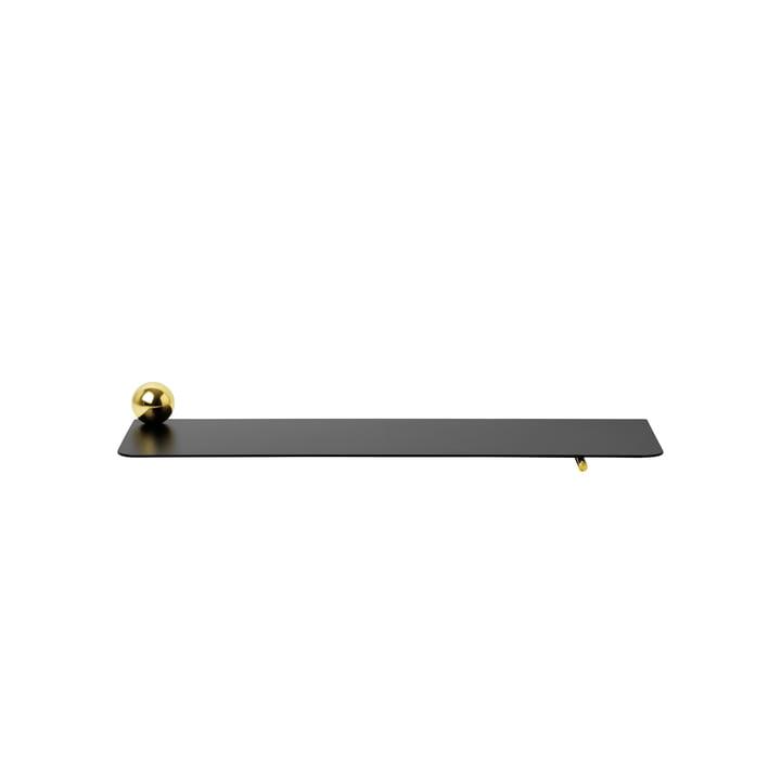 ferm living - Flying Shelf Cylinder, Black / Brass