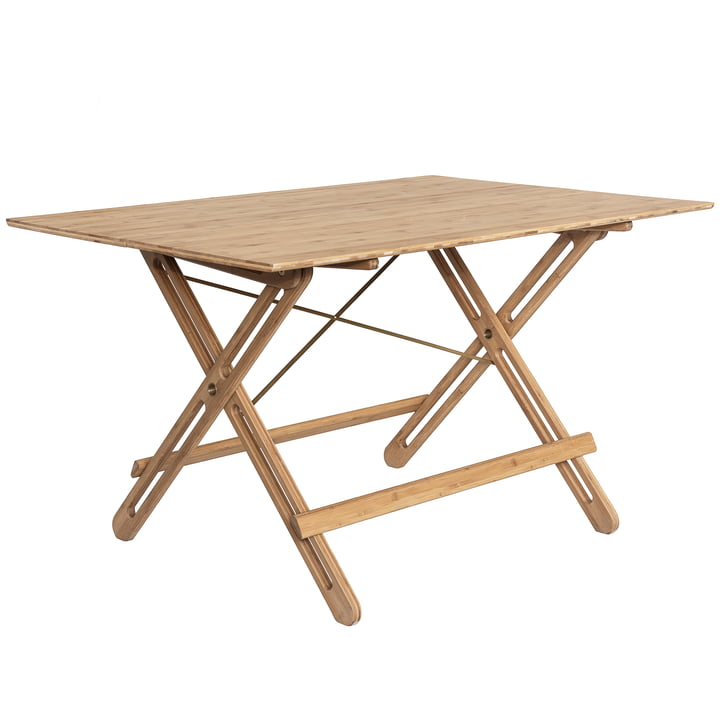 We Do Wood - Field Folding Table, bamboo