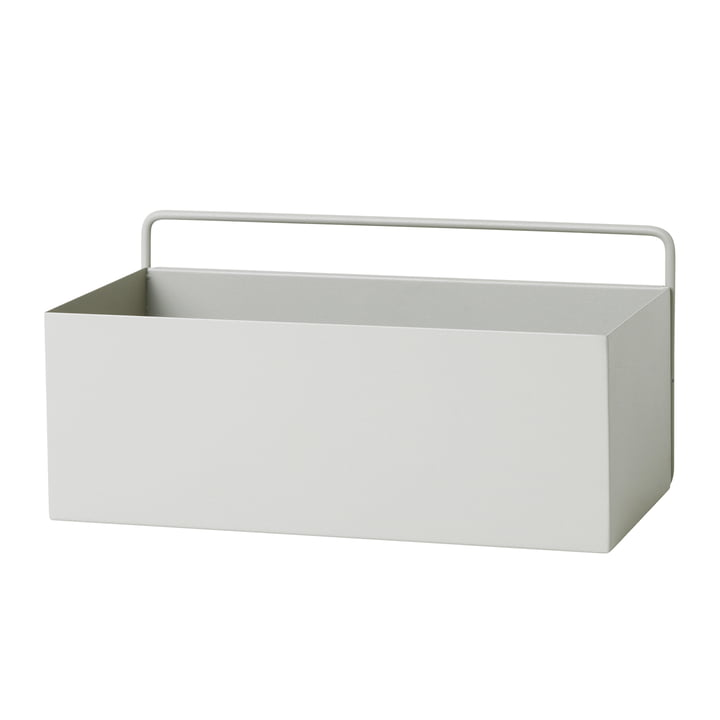 Wall Box rectangular by ferm Living in light grey