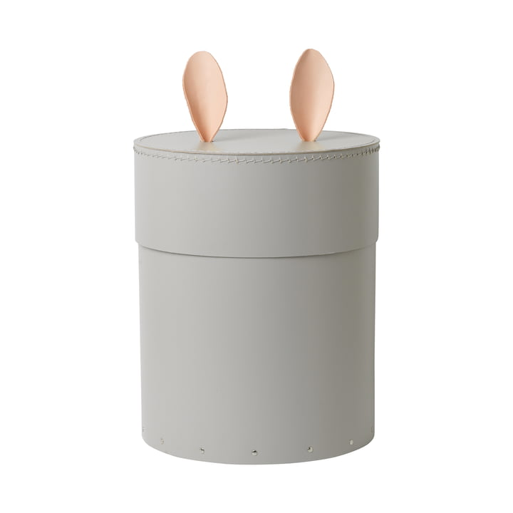 Rabbit Storage Box by ferm Living in Grey