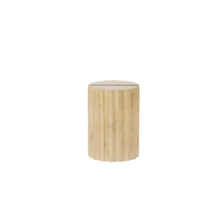 Column Card Holder by ferm Living in Brass