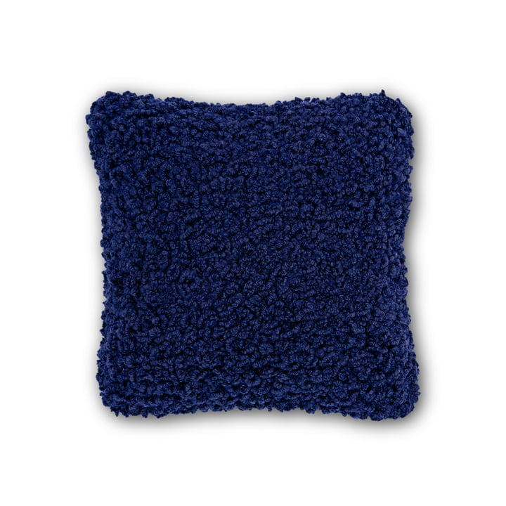Boucle Cushion 45 x 45 cm by Tom Dixon in Electric Blue
