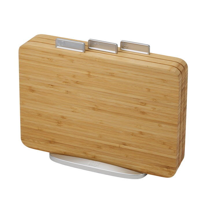 Index Bamboo Cutting boards in a set of 3 from Joseph Joseph