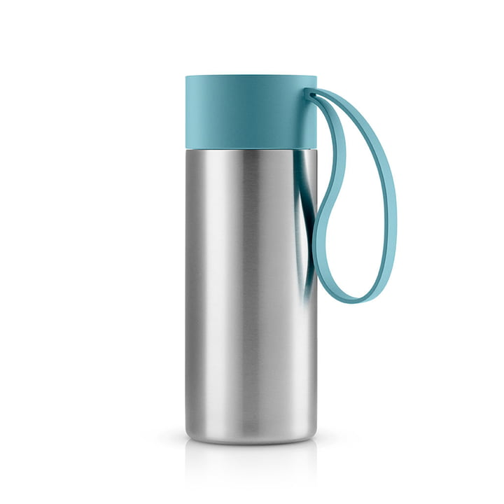 To Go thermo mug 0.35 l by Eva Solo in Arctic Blue