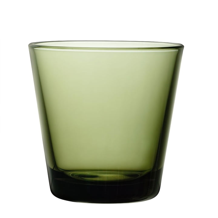 Iittala - Kartio Drinking glass 21 cl, moss green