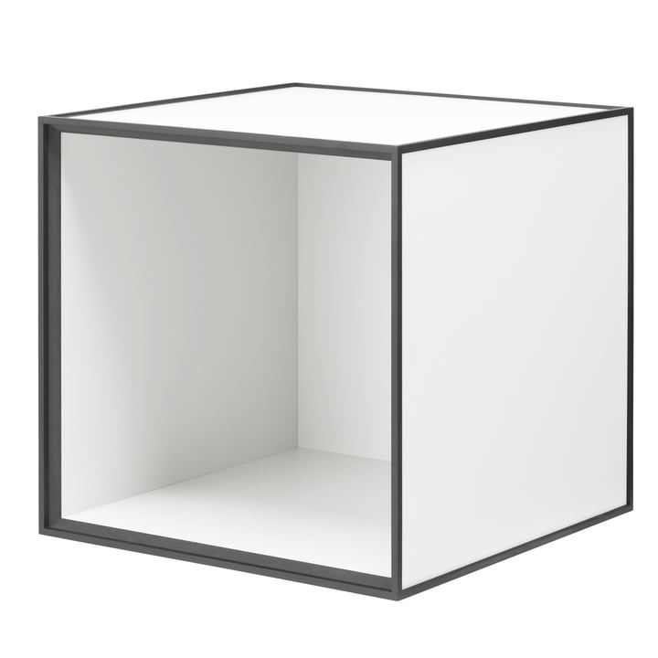 Frame Cabinet 35 from by Lassen in White