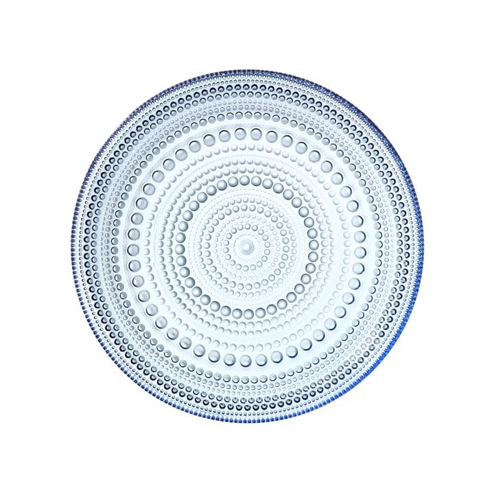 Kastehelmi Plate Ø 17 cm by Iittala in Aqua