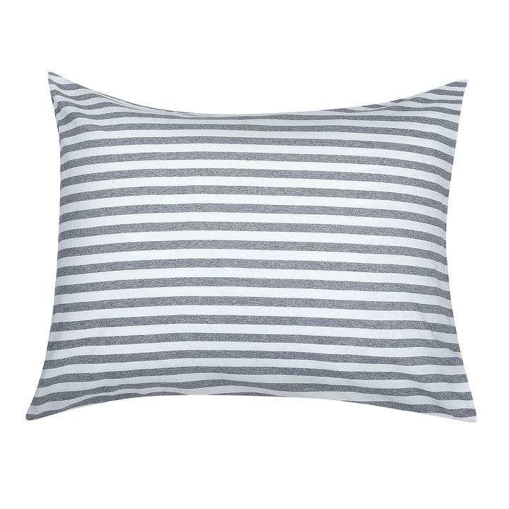 Tasaraita 80 x 80 cm pillow case from Marimekko in grey / white