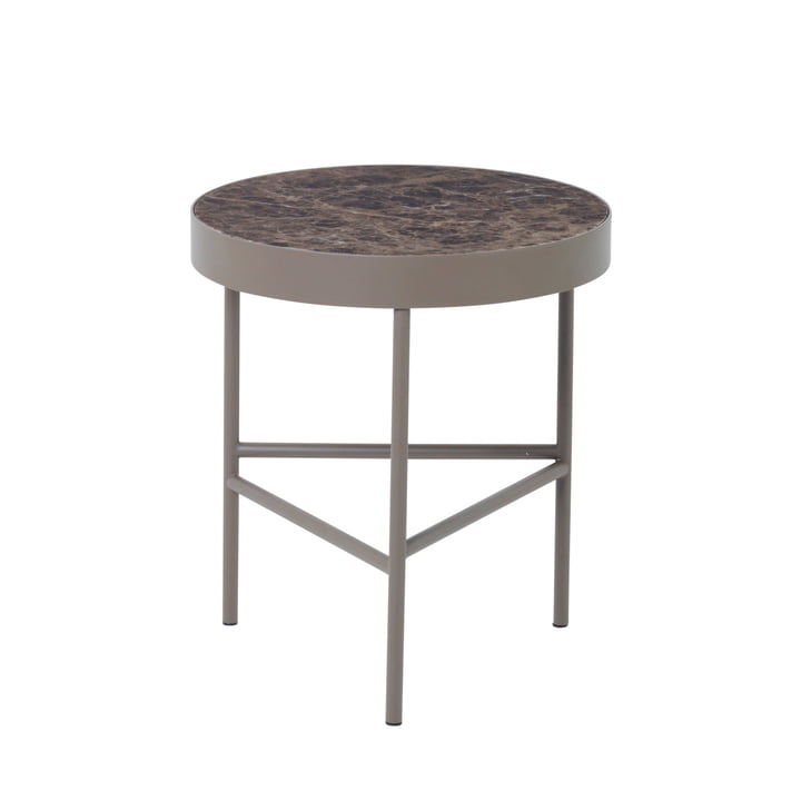 ferm Living - Marble Table medium, brown