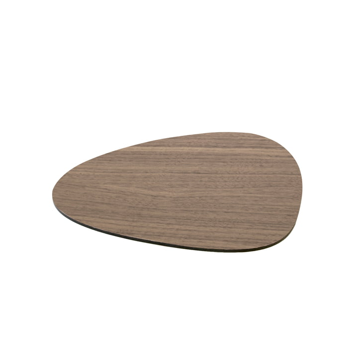 Isolated product image of the Cut&Serve Curve S 25 x 21 cm by LindDNA in Walnut