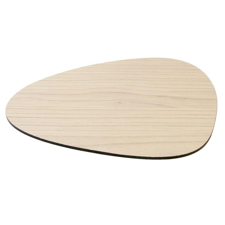 Cut&Serve Curve L 35 x 30 cm by LindDNA in Ash