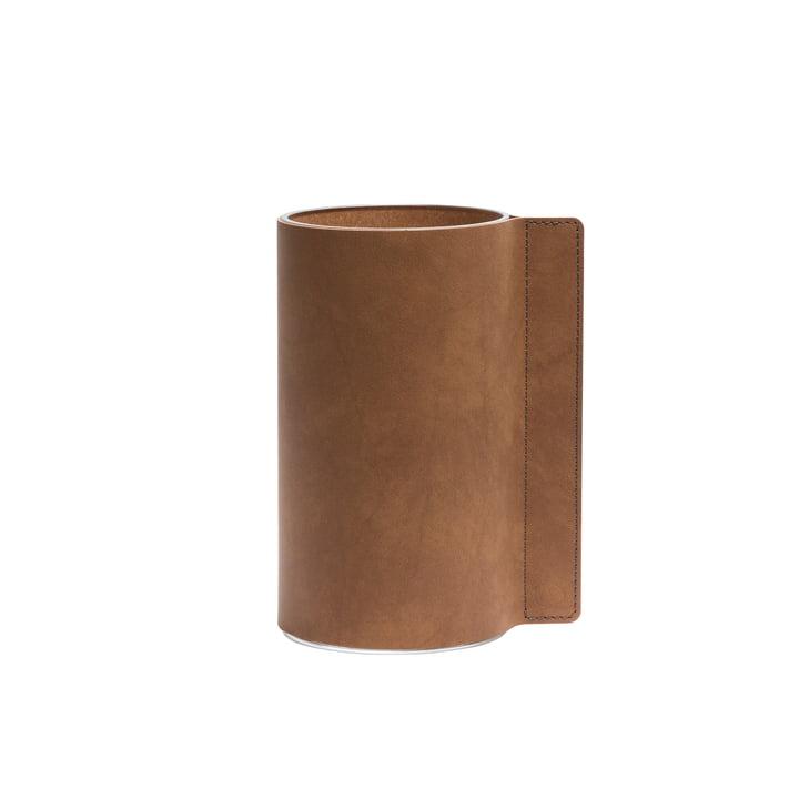 LindDNA - Block Vase M, Ø 11 x 20 cm, natural Nupo / glass