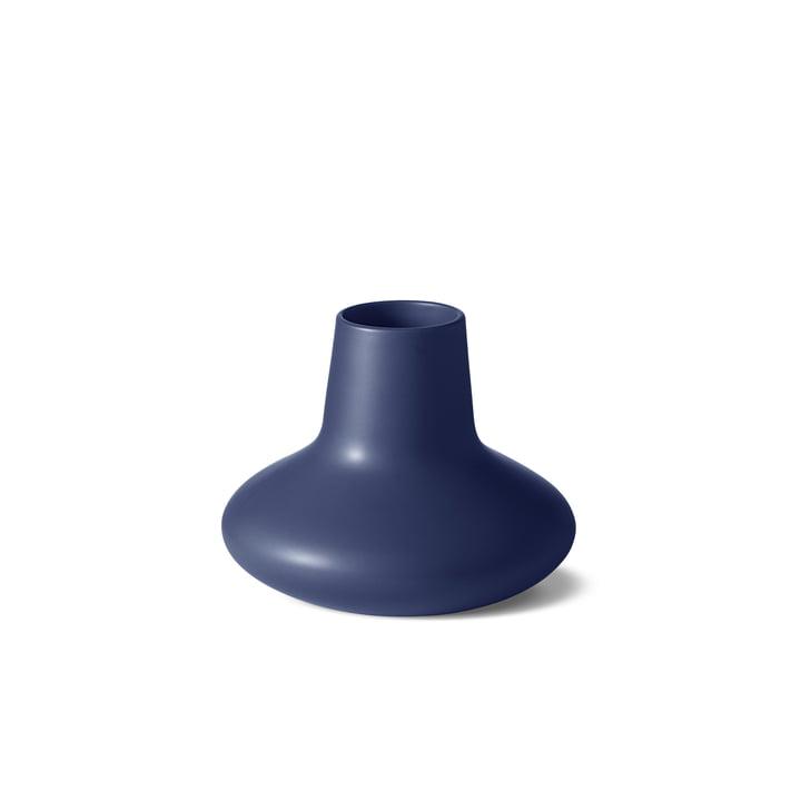 The Georg Jensen - Henning Koppel Vase, Small, Blue Stoneware