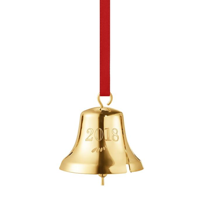 The Georg Jensen - Christmas bell 2018 in gold