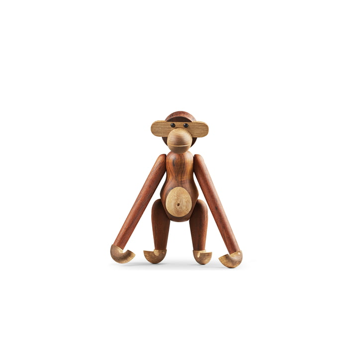 Kay Bojesen - Wooden Monkey Mini, limba wood / teak