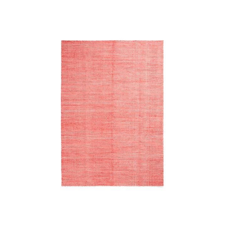 Hay - Moiré Kilim Rug, 140 x 200 cm, Coral