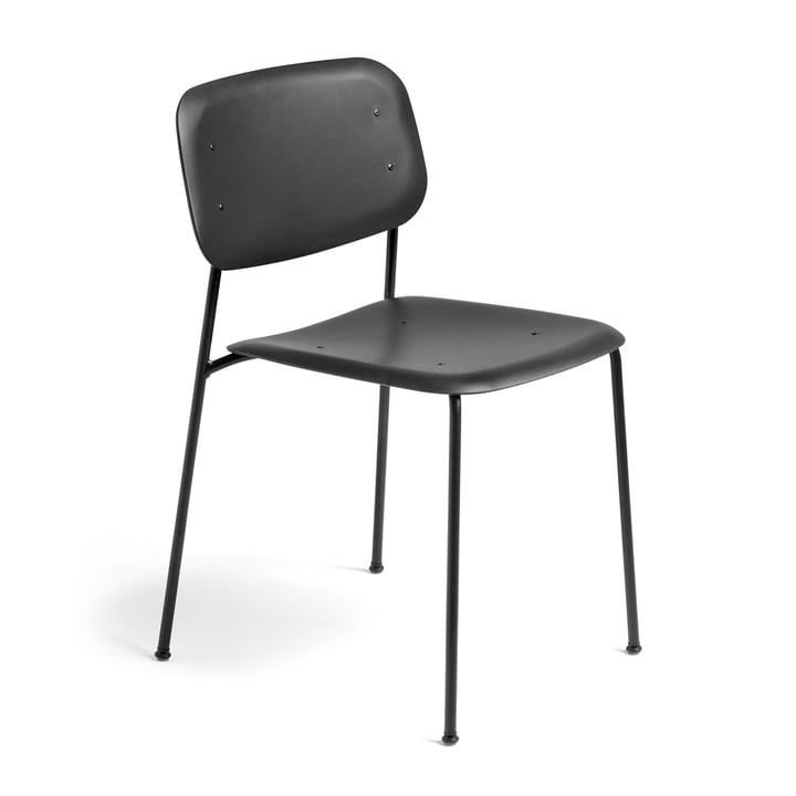 Hay - Soft Edge Chair P10 Chair, black / black
