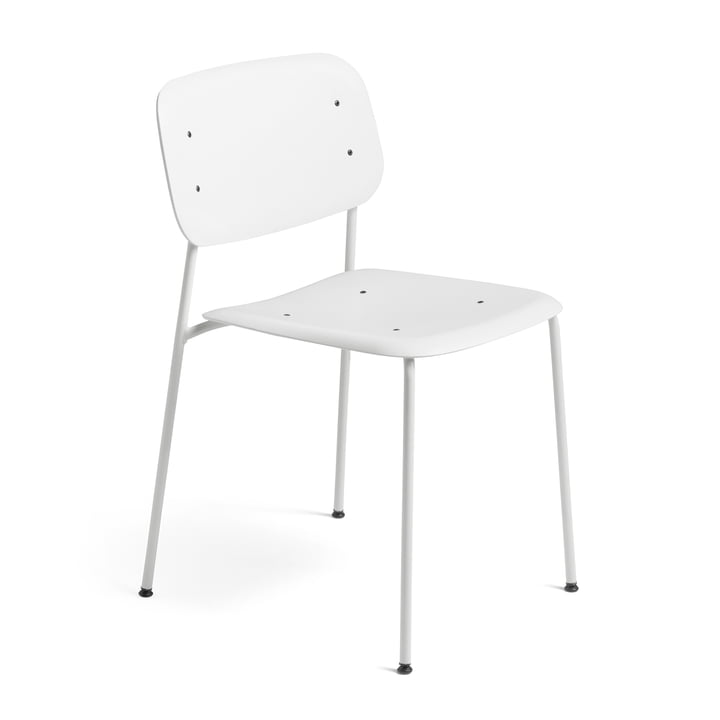 Hay - Soft Edge Chair P10 Chair, white / white