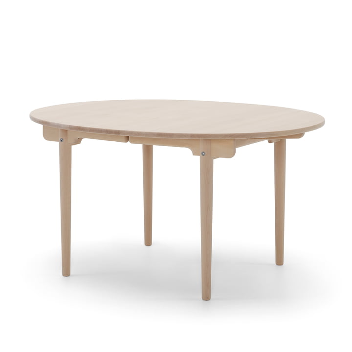 Carl Hansen - CH337 Extendable Dining Table, 140 x 115 cm, soaped oak