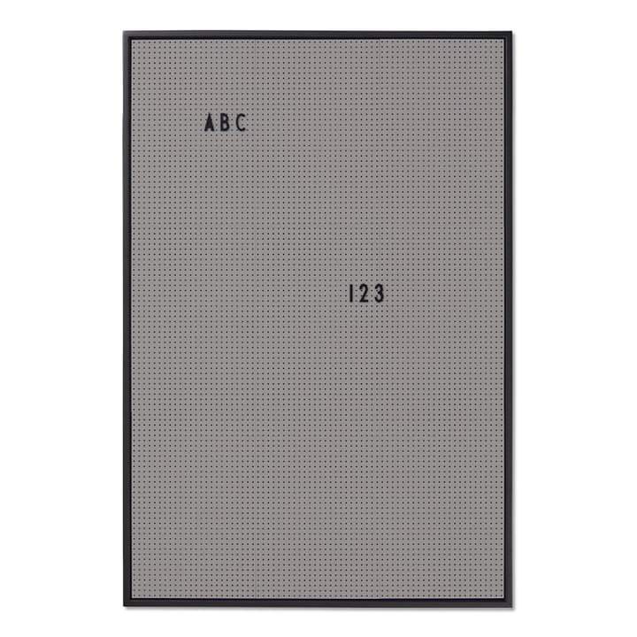 The Design Letters - Message Board A2, Dark Grey
