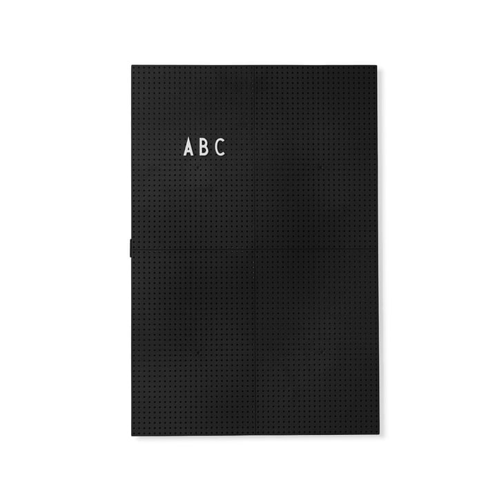The Design Letters - Message Board A3, Black
