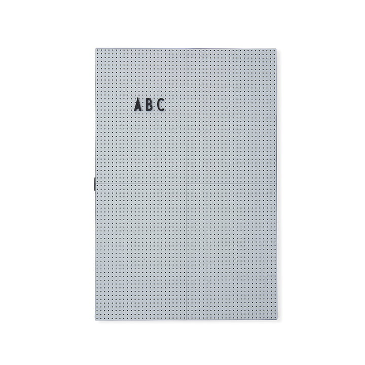 The Design Letters - Message Board A3, Light Grey