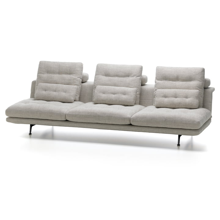 Vitra - Grand Sofà 3.5 Seater Without Armrests