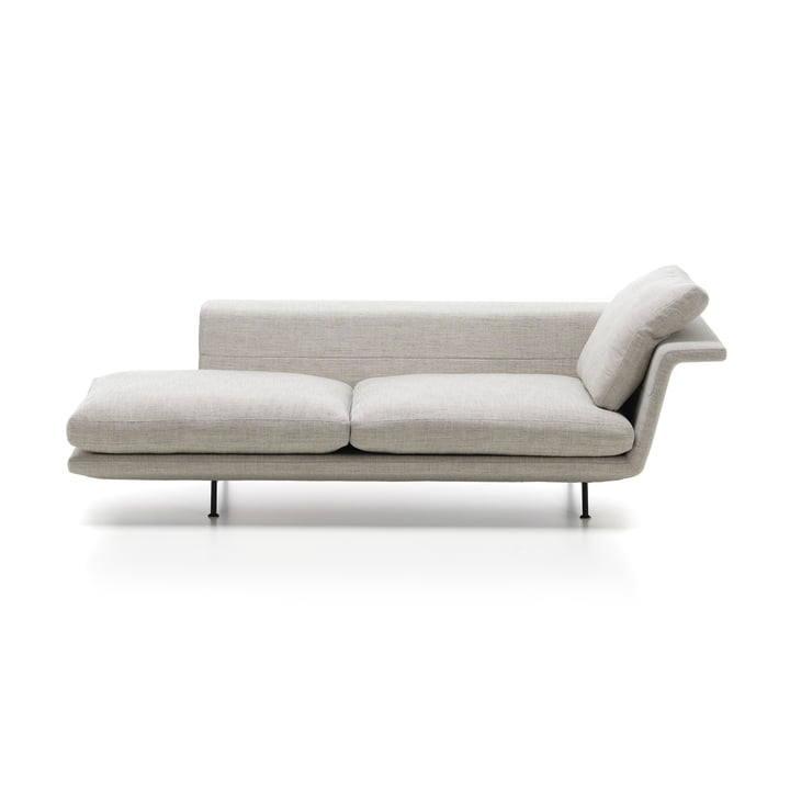 Vitra Grand Sofa with an Open Left Side without Tufting
