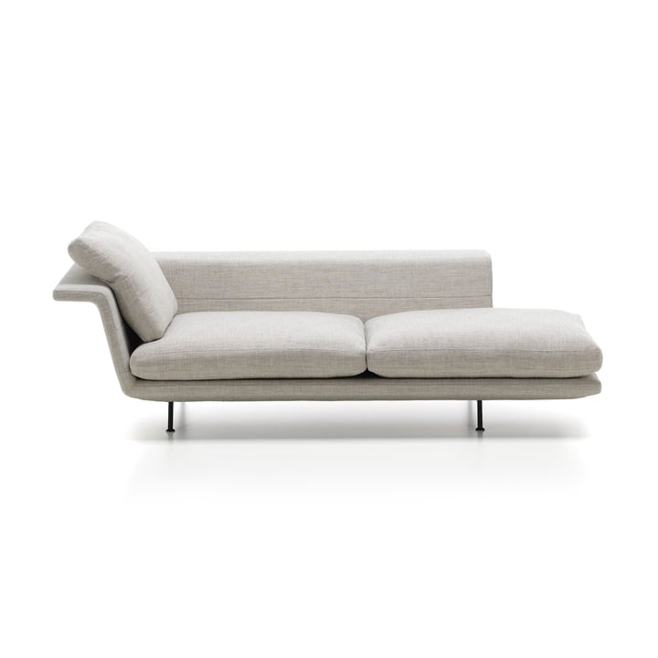 Grand sofa by Vitra as a Chaise Longue Without Tufting in Beige