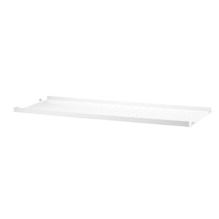 metal floor with low edge 78 x 20 cm from String in white
