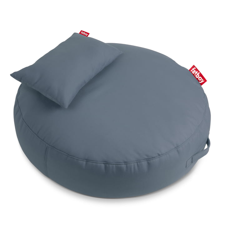 The Fatboy - Pupillow Outdoor Beanbag, steel blue