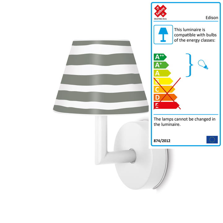 The Fatboy - Add the Wally Wall Lamp, white