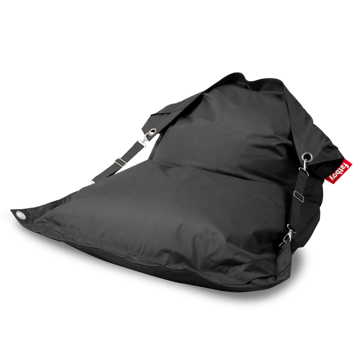The Fatboy - Buggle-Up Outdoor Beanbag, charcoal