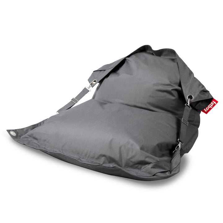The Fatboy - Buggle-Up Outdoor Beanbag, grey